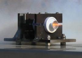 Jones rocket motor test fired by Thales