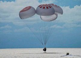 SpaceX Capsule Safely Returns Carrying World's First All-Civilian Orbital Crew